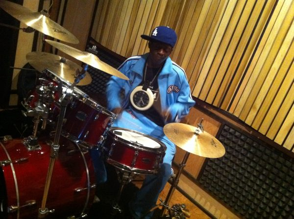 Flavor Flave in Studio Recording