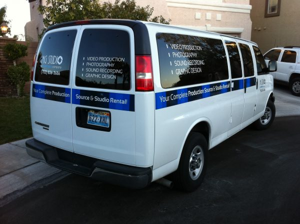 las vegas video production van cargo sprinter dit station