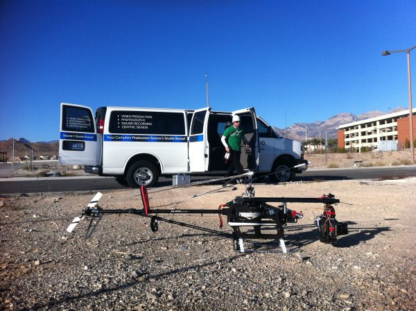 las vegas aerial production faa certified complete services on location